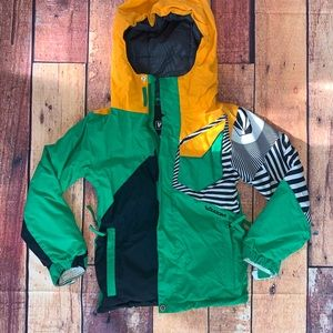 Volcom Youth Snowboard Jacket Vintage Vibes (Hx)